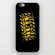 Dangerous Mute Lunatic iPhone & iPod Skin