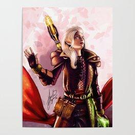 Dragon Age Inquisition - Aspen the elvish mage Poster