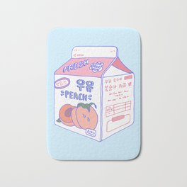 Peach Milk Bath Mat
