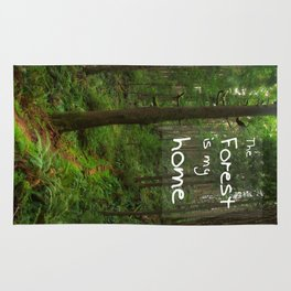 The Forest Is My Home Rug