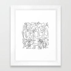 Two Kings Framed Art Print
