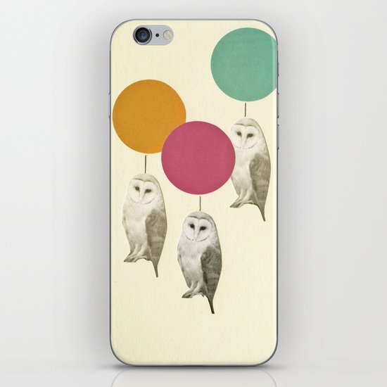 Balloon Landing iPhone & iPod Skin