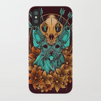 sphynx iPhone & iPod Cases featuring Sphynx Cat by Robin Clarijs