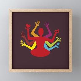 buda 2.0 Framed Mini Art Print