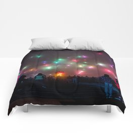 Firework Sky Comforters