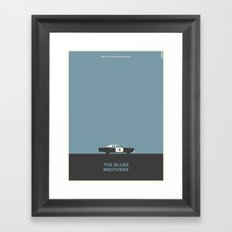 Blues Brothers Framed Art Print