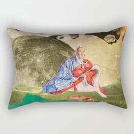 Peace by the Light of the Moon Rectangular Pillow
