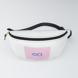 symbol of infinity 1 Fanny Pack