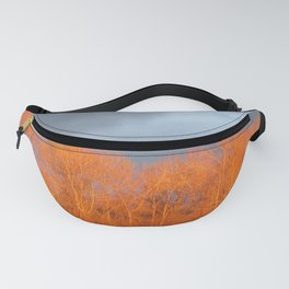 Glowing Birches Fanny Pack