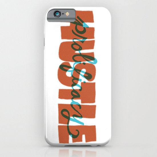 Hustle & Prolificacy iPhone & iPod Case