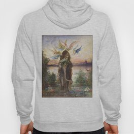 The Sacred Elepant Painting (1882) Hoody