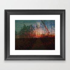 2829C Sunset Framed Art Print
