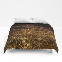 The City Lights (Color) Comforters