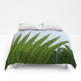 Tropical Palm Fan Comforters