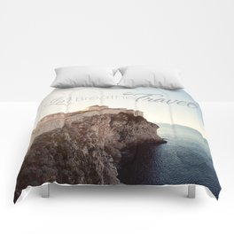 Live Breathe Travel - Dubrovnik, Croatia Comforters