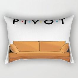 Pivot Friends Rectangular Pillow