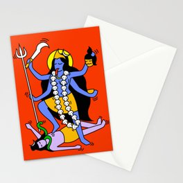 Kali Keith Haring style Stationery Cards