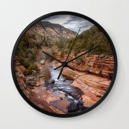 Slide Rock State Park - Arizona Wall Clock