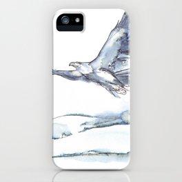 Flying Eagle, Hudson Valley (center) iPhone Case