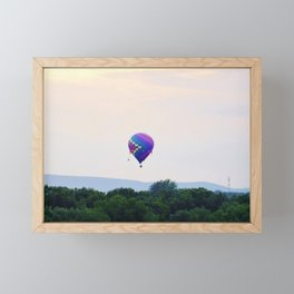 Hot Air Balloon Framed Mini Art Print