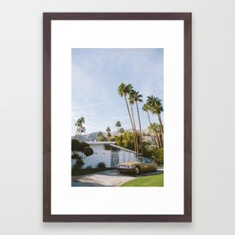 Palm Springs Mid Century Modern 1 Framed Art Print