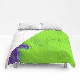 green triangle Comforters