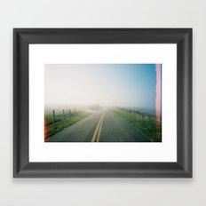 Road to Point Reyes  Framed Art Print