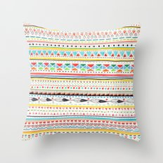 Pattern No.2 Throw Pillow