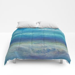 Infinity Beyond The Blue Comforters