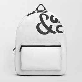 Grillin & Chillin' T-Shirt Backpack