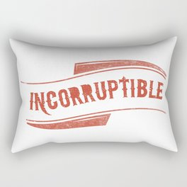 Incorruptible Rectangular Pillow