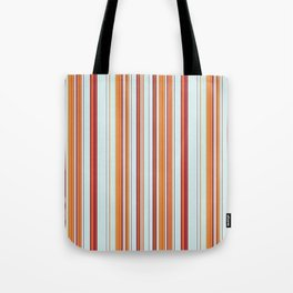 Combined Stripe Pattern - Clear Sailing Colorway Tote Bag