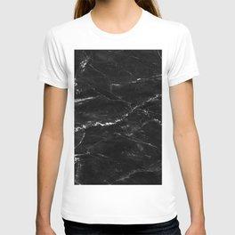 Natural Black Marble Lover Gift Vintage T-shirt