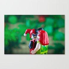 Stolen Kiss Canvas Print