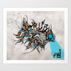 Opening Art Print