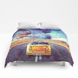 Globe trotter Comforters