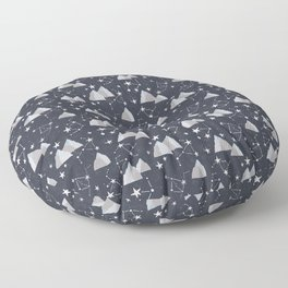 Mountain Sky Floor Pillow