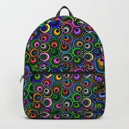 Crazy Scattered Marbles Backpack
