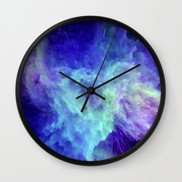 Space Explosion 07 Wall Clock