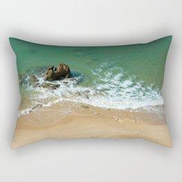 Rock in the Atlantic Ocean Rectangular Pillow