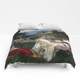 "John William Waterhouse ""Saint Cecilia"" Comforters"
