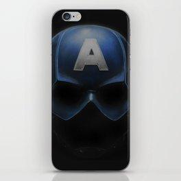 Capt America - Cowl Portrait iPhone Skin
