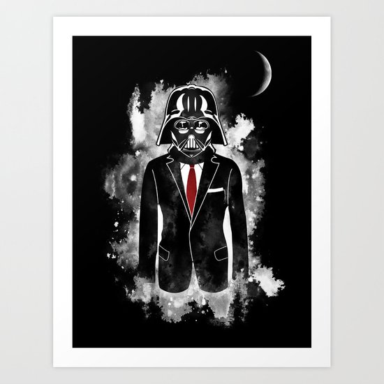 Lord Vader - From The Dark Side Art Print