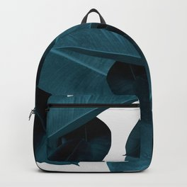 Indigo Plant Leaves Backpack