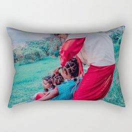 Chain, Chain, Chain Rectangular Pillow