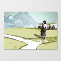 somewhere Canvas Print