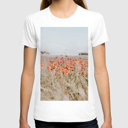 flower field T-shirt