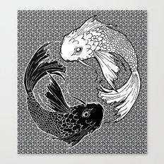 Yin &Yang Canvas Print