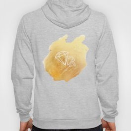 Faceted Gold Hoody