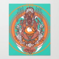 West Ganesh - Color Canvas Print